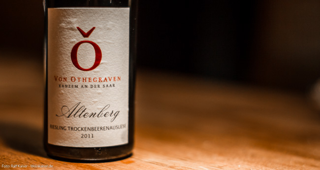 Von Othegraven Kanzemer Altenberg Riesling TBA 2011