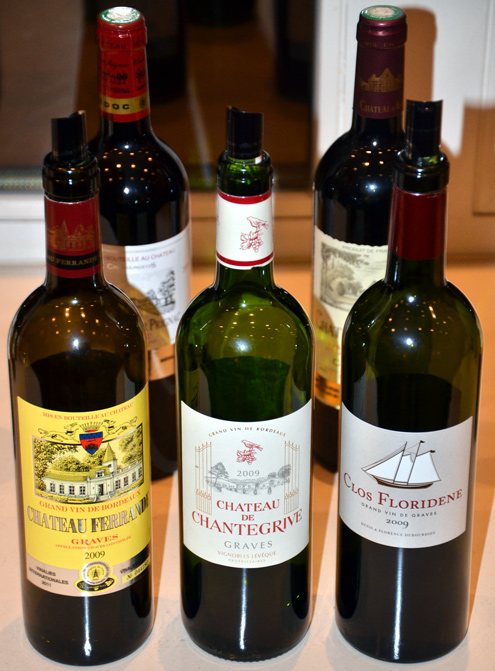 Tasting mit ch teaux und domaines castel for Chateau ferrande