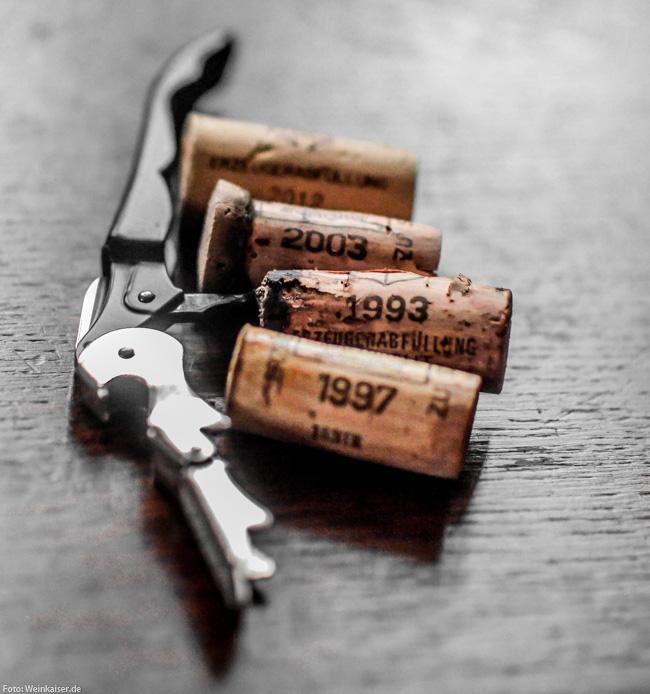 Weinprobe im Scharzhof bis zurück ins jahr 1989