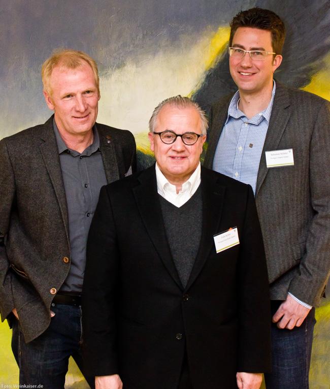 VDP Neuaufnahmen 2014: Rudolf May, Fritz Keller und Sebastian Schäfer
