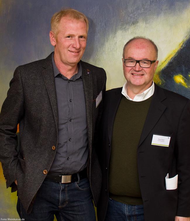 VDP Vize Paul Fürst mit Neumitglied Rudolf May