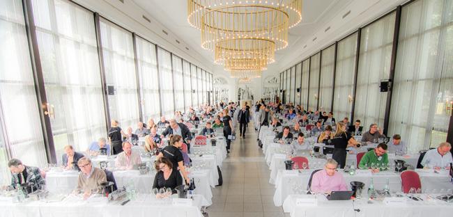 Professionelle Weinverkostung in Wiesbaden....