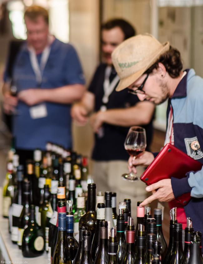 Vinocamp Deutschland 2015: freie Verkostung der Reste nach den parallel stattfindenden Themenweinproben
