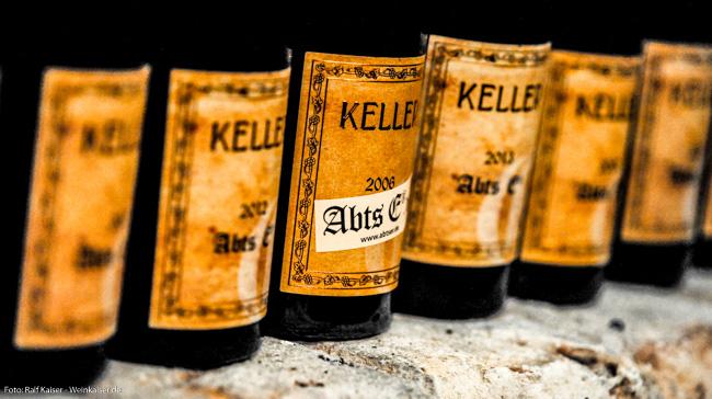 Weingut Keller Riesling Abtserde GG Vertikale