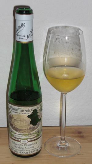 Max Ferd. Richter - Veldenzer Elisenberg Auslese 1995