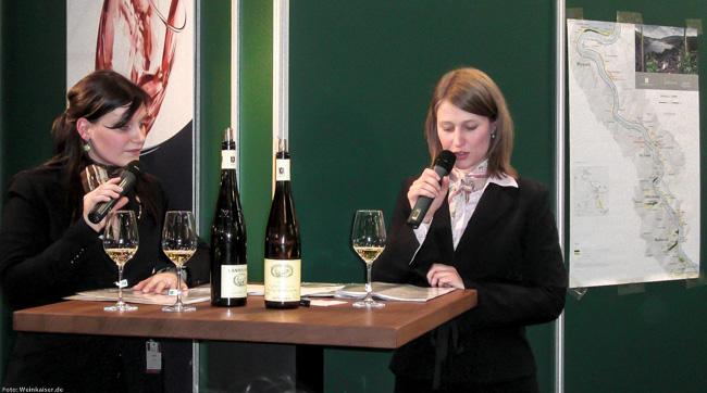 Verkostung VDP Mittelrhein auf der Prowein 2009