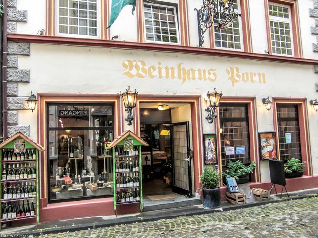 Weinhaus Porn - das Rieslinghaus in Bernkastel