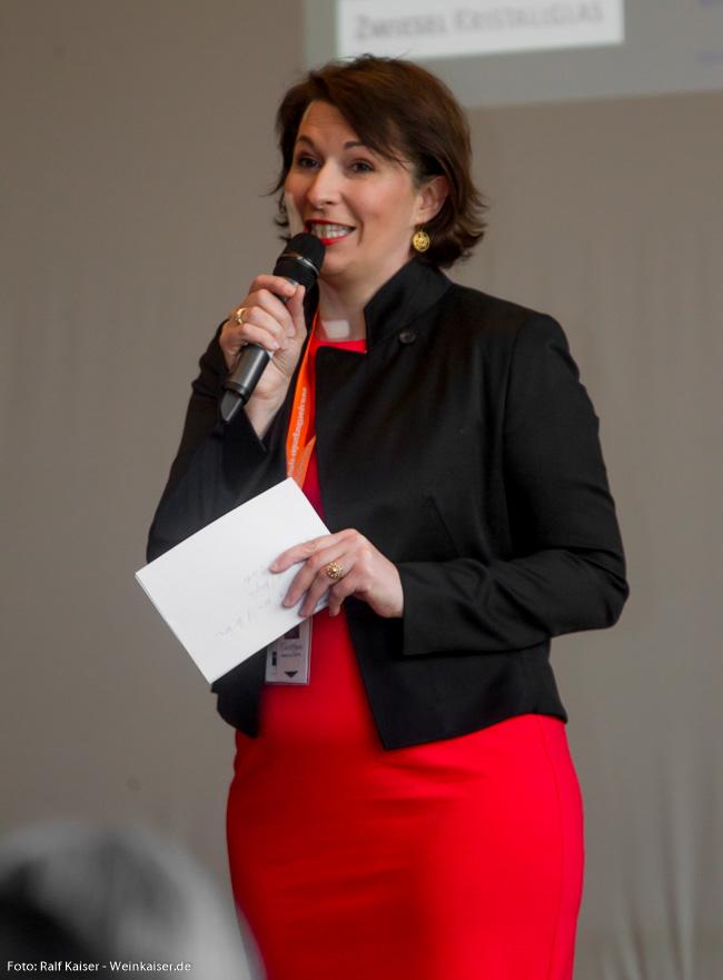 Romana Eschensperger, MW beim International Pinot Noir Symposium 2017