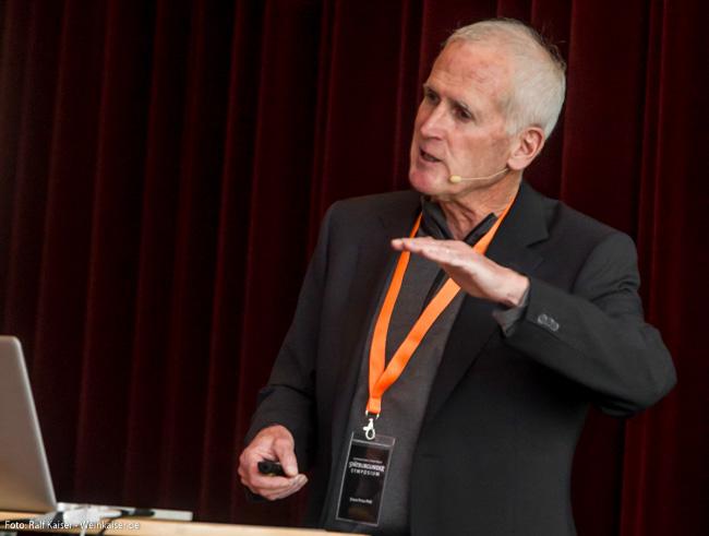 Steve Price, PhD beim International Pinot Noir Symposium 2017
