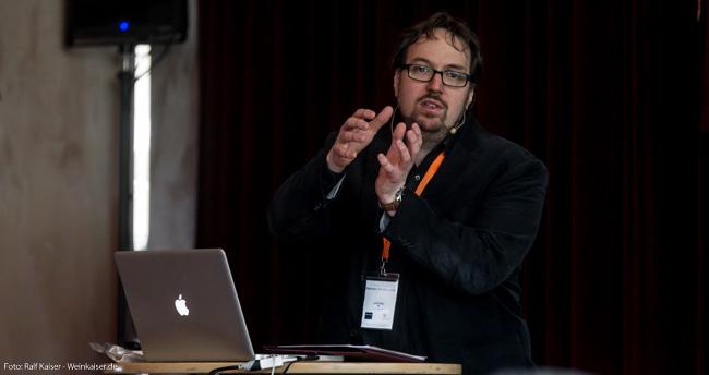 Carsten Henn, Chefredakteur GaultMillau Weinguide Deutschland beim International Pinot Noir Symposium 2017