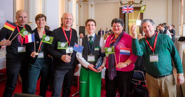 Unser Jurytisch beim Concours Mondial du Sauvignon 2018